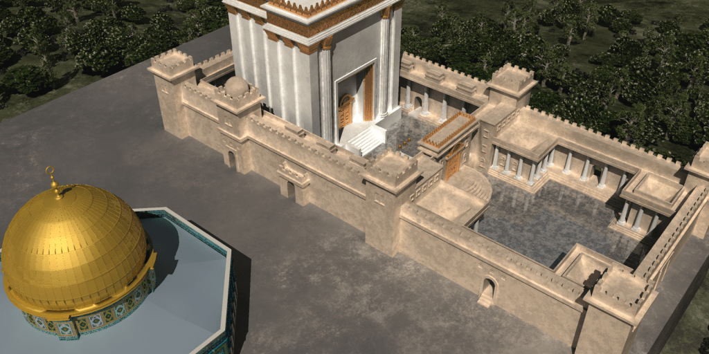 Third Temple and Dome Rock